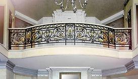 кованый балкон от РУСИЧ