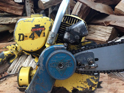 Clinton D4 vintage chainsaw #9.JPG