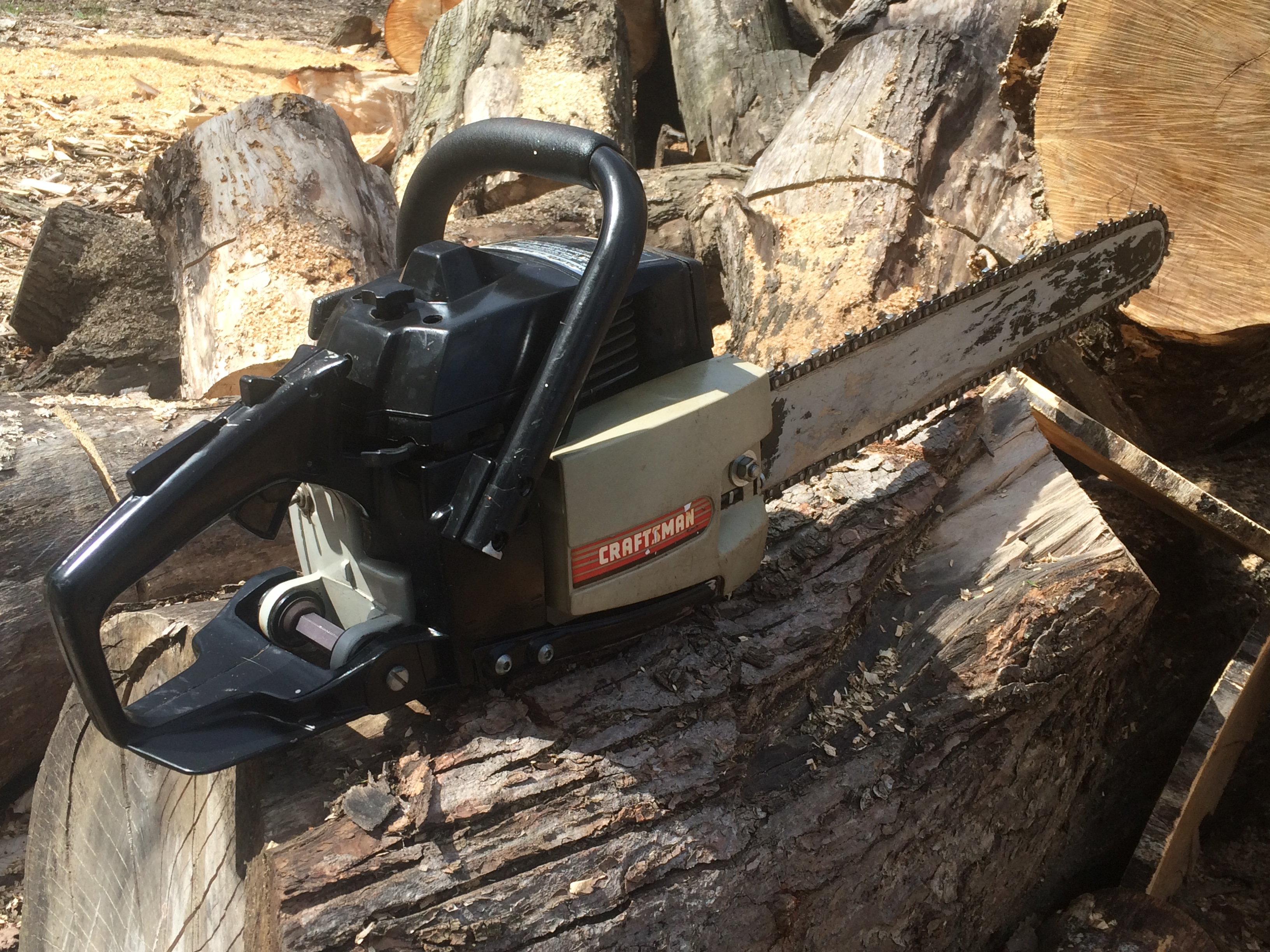 Craftsman 3.7 (Poulan 3700) chainsaw