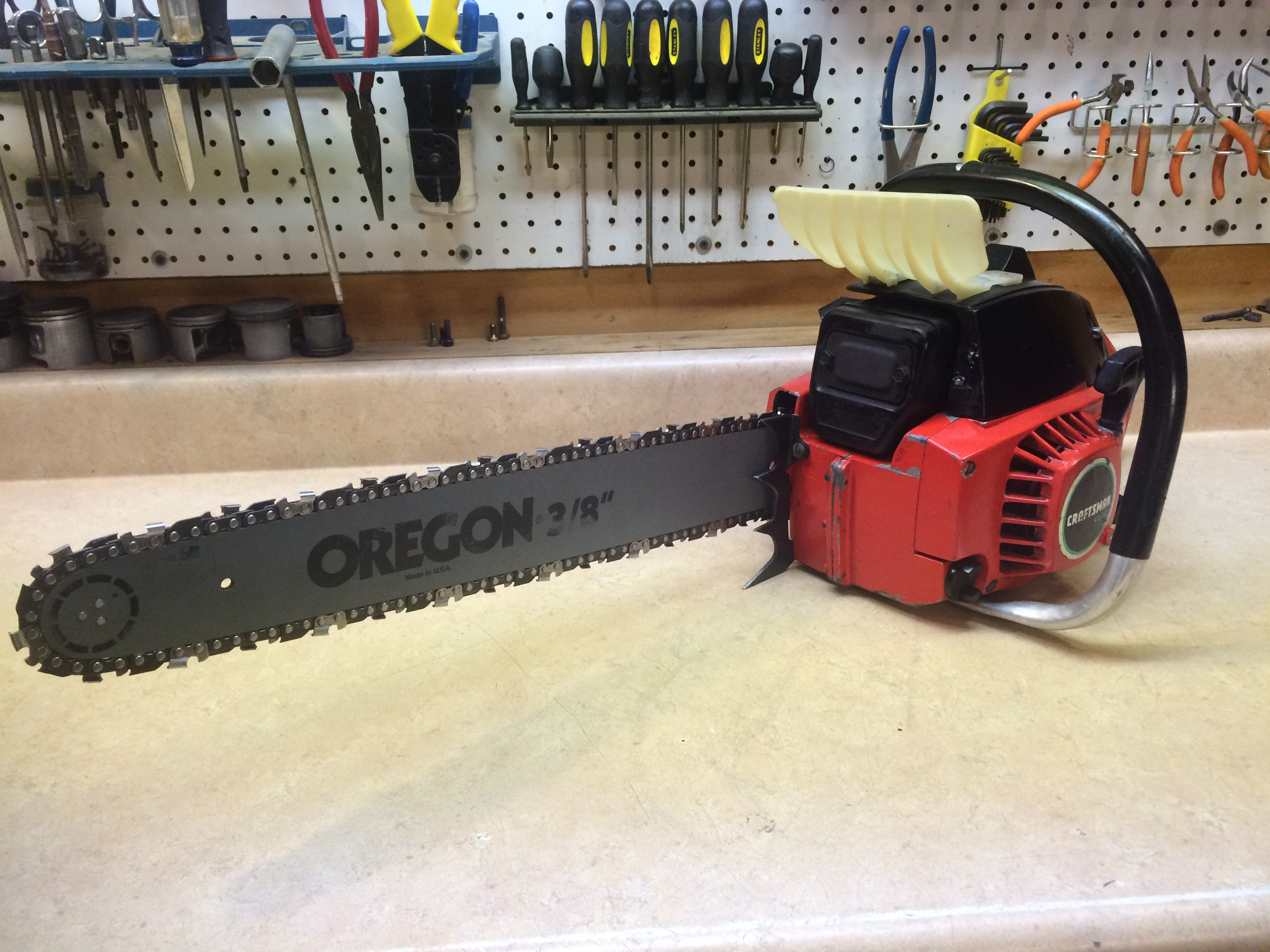 Craftsman 4.2 (Poulan 4200) chainsaw