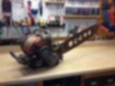 Vintage chainsaw