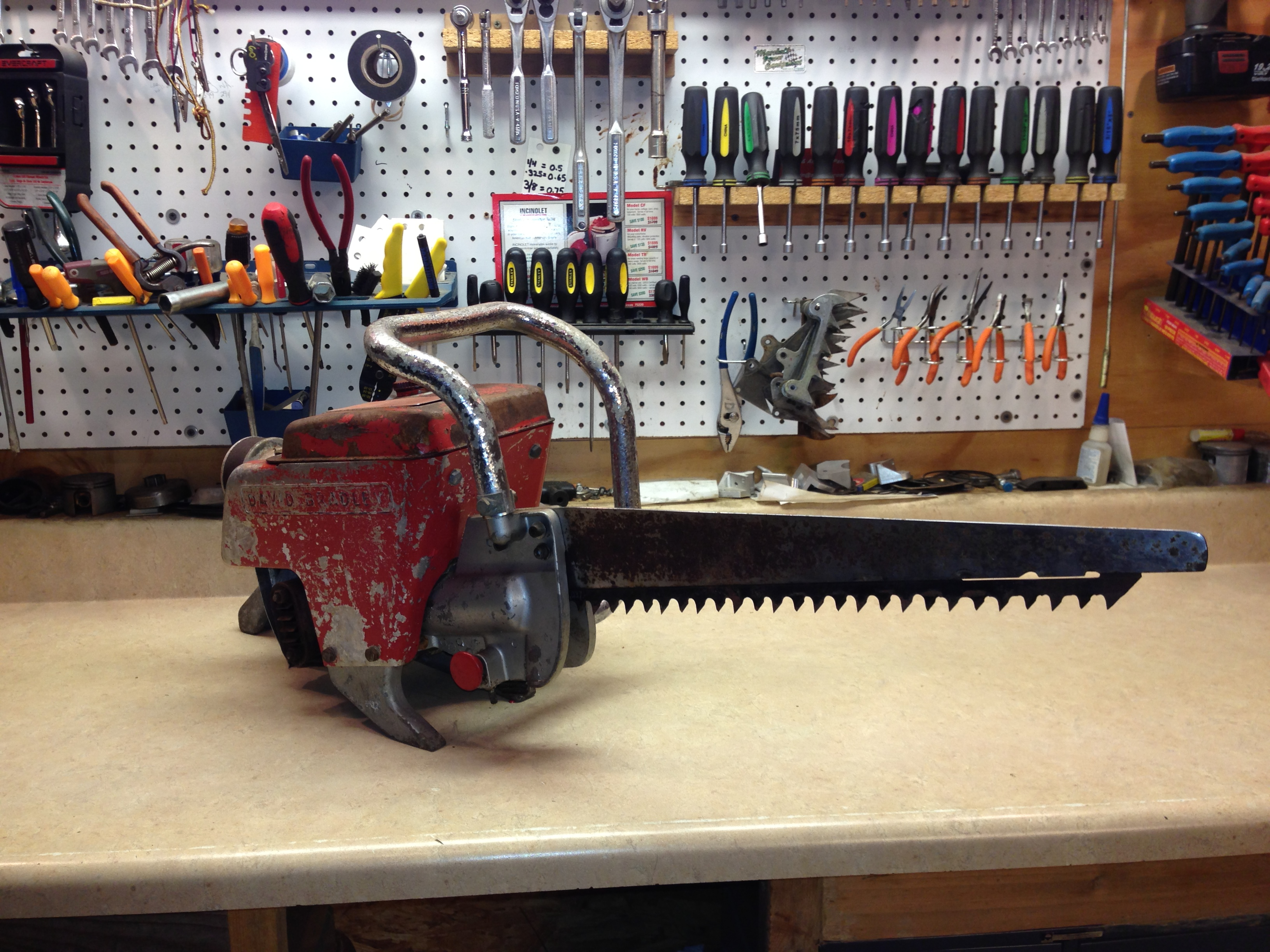 David Bradley reciprocating saw 283.83300  chainsaw (Wright GS-218) #5.JPG
