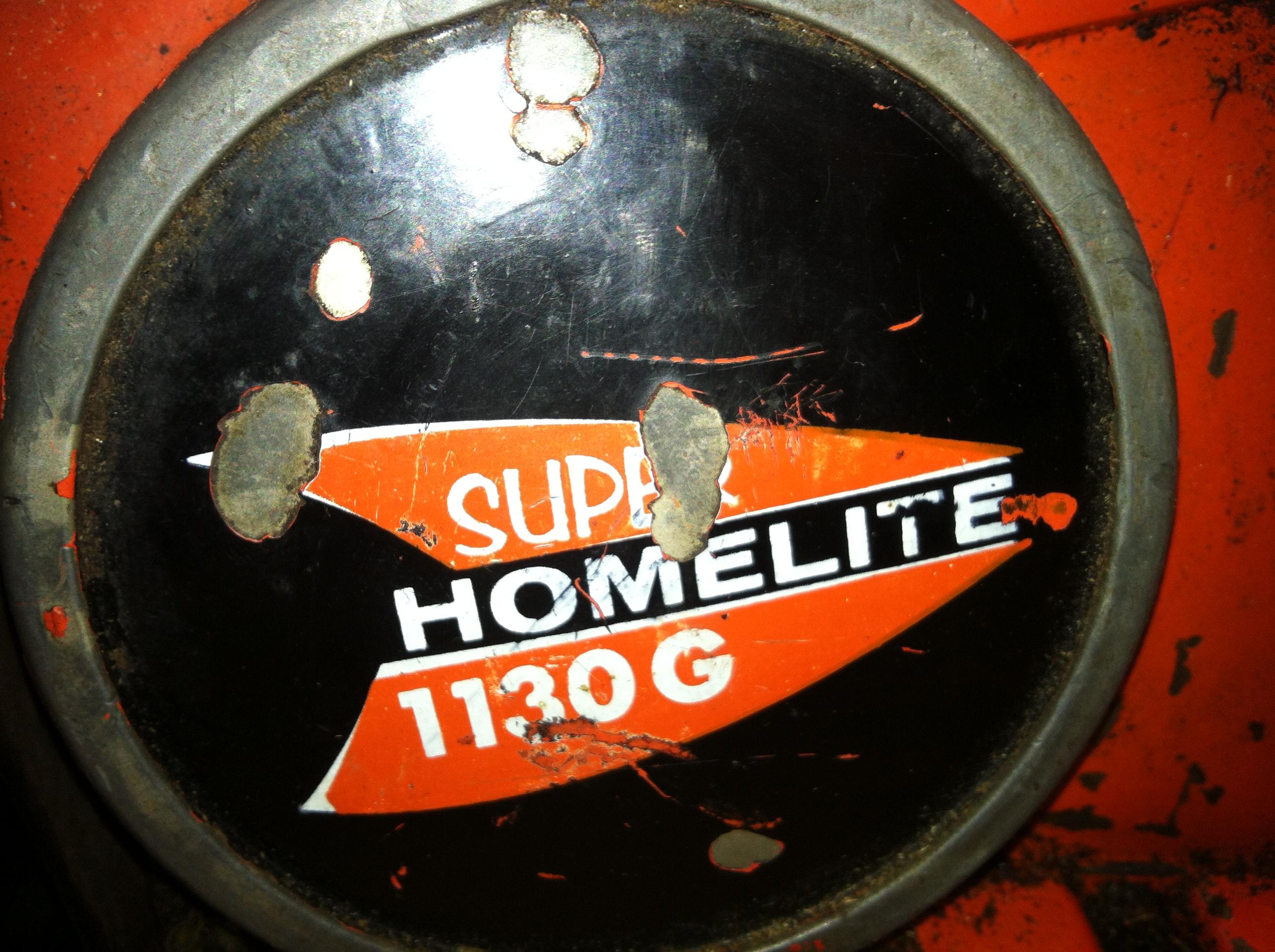 Homelite 1130G Super pic 10