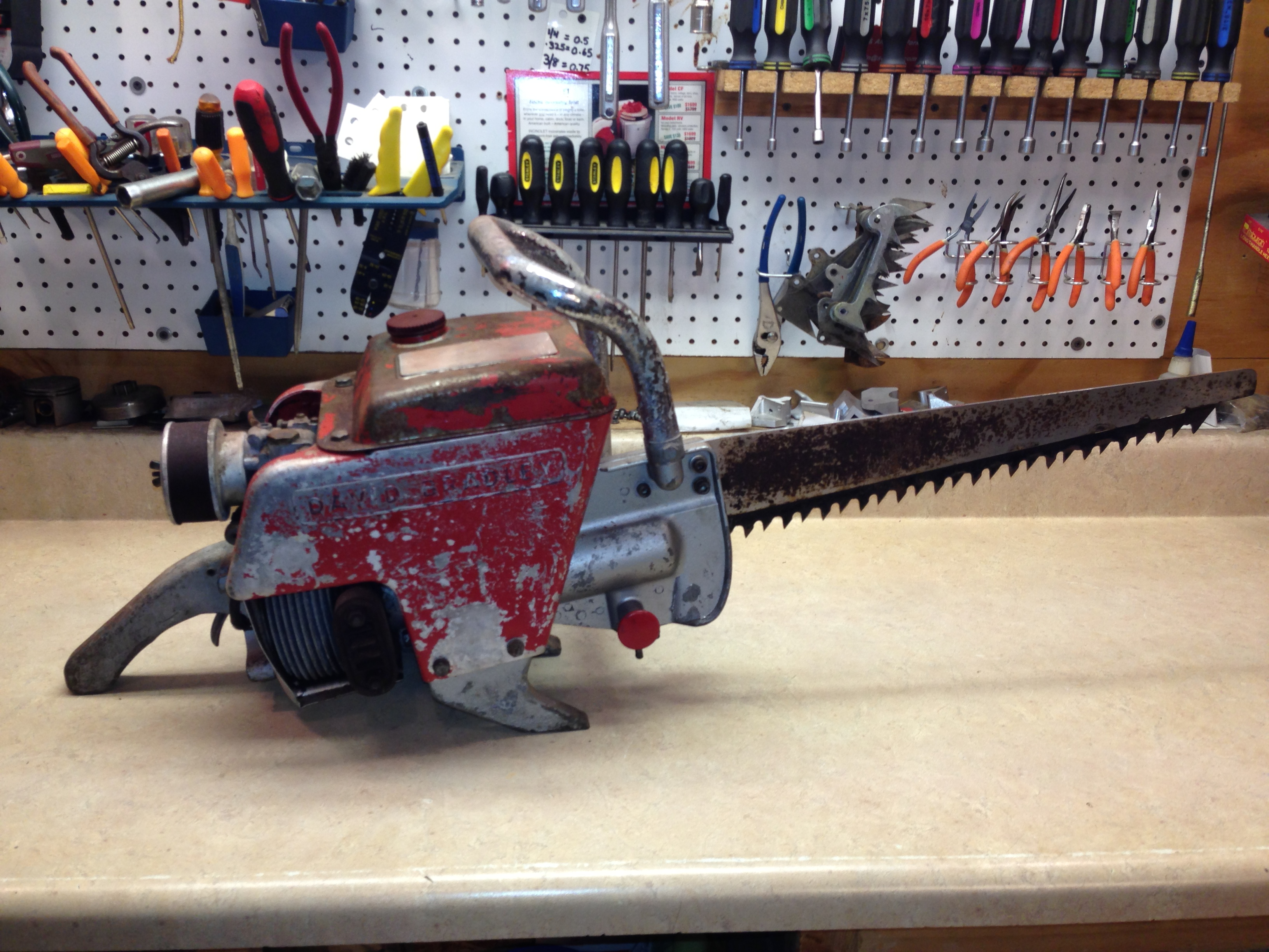 David Bradley reciprocating saw 283.83300  chainsaw (Wright GS-218) #1.JPG