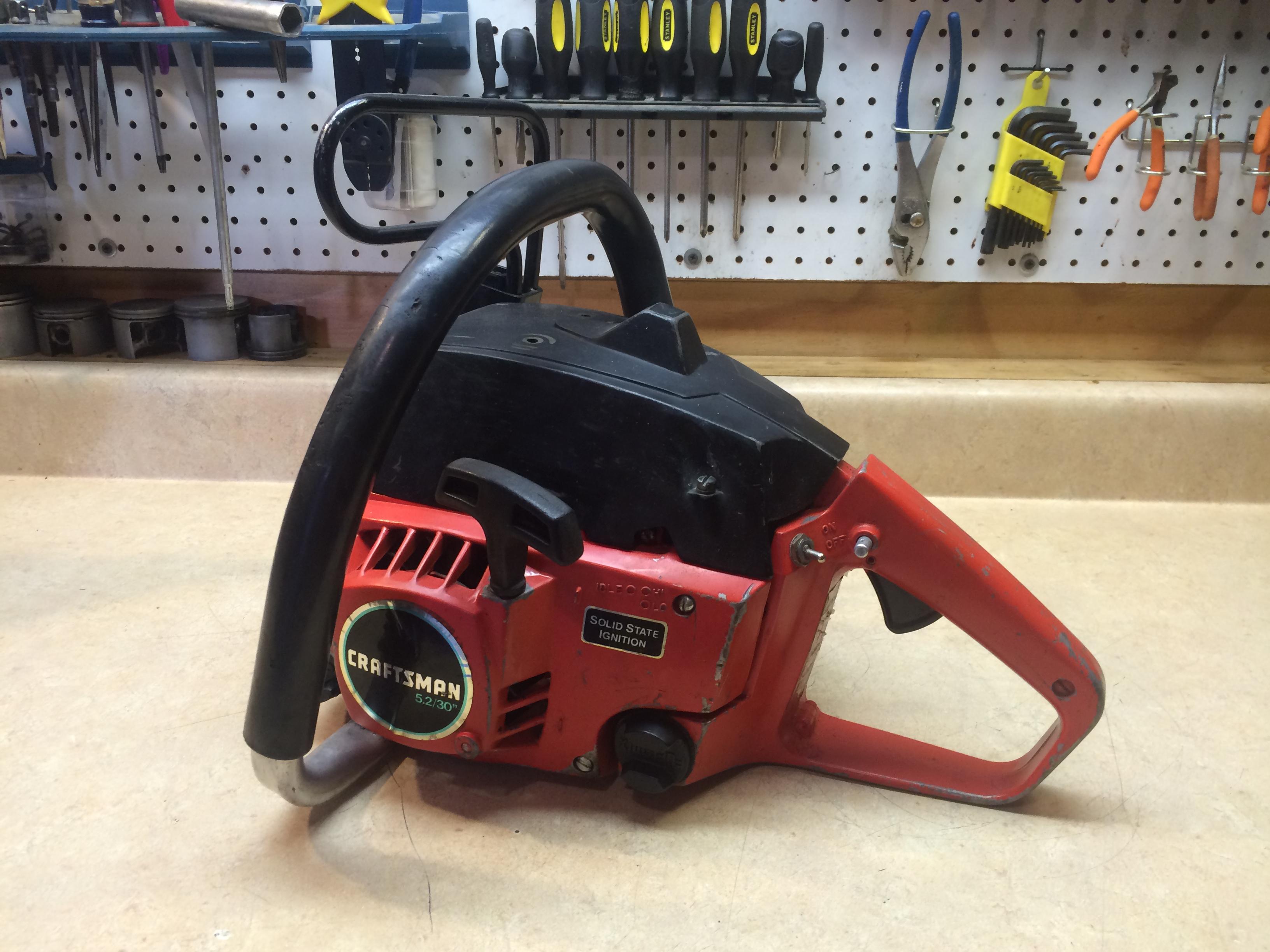 Craftsman 5.2 (Poulan 5200) chainsaw