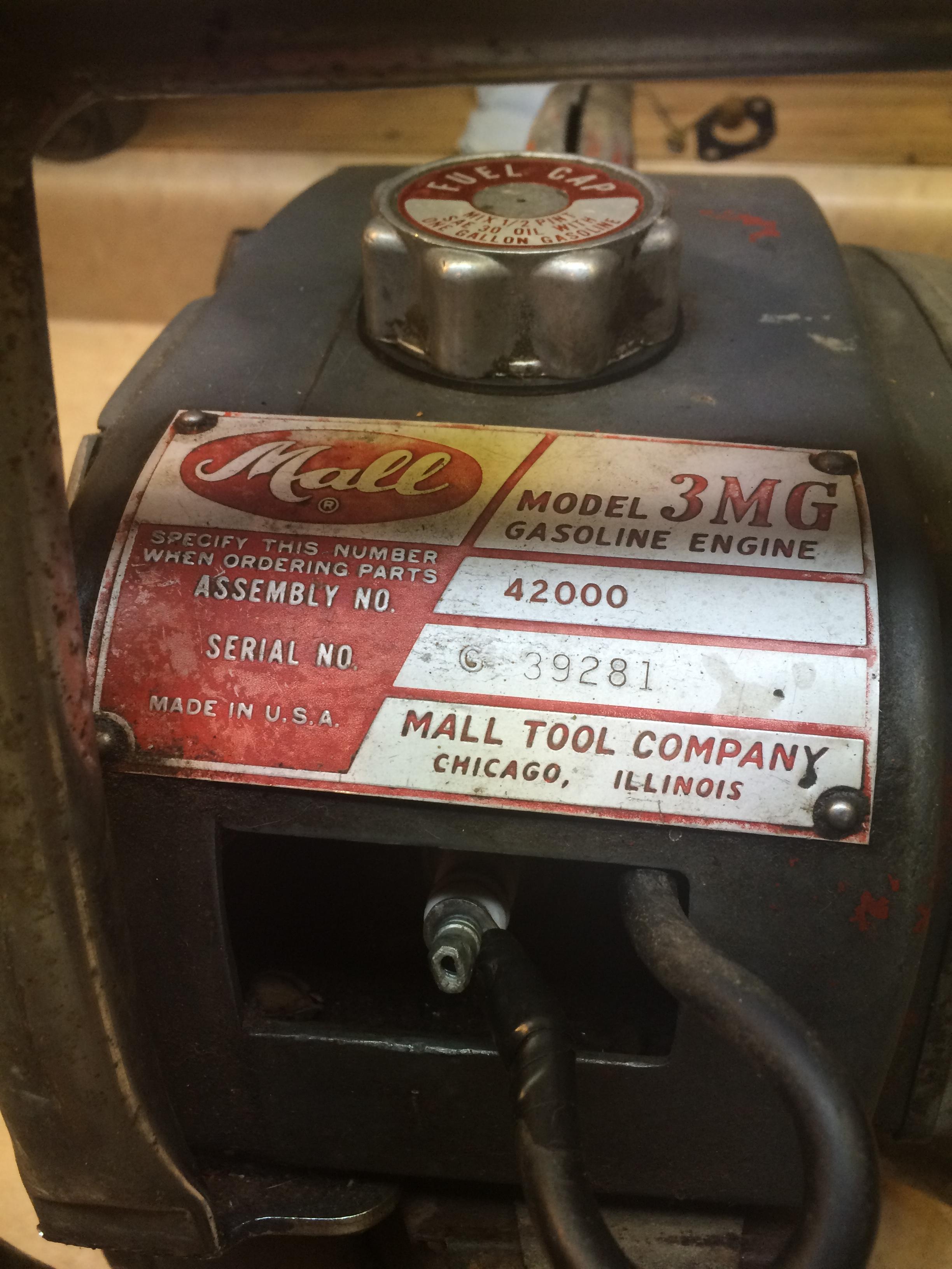 Rare Mall 3MG chainsaw #8