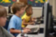 School childern learning