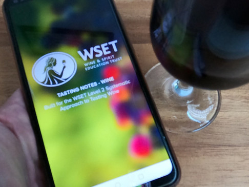 Download the free WSET Tasting APP