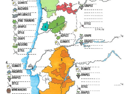 Portugal Blank Maps