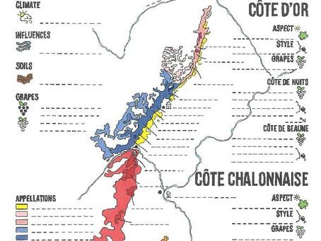 Bourgogne Blank Map
