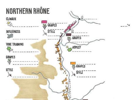 Rhône Blank Map