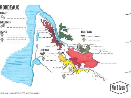 Bordeaux Blank Map
