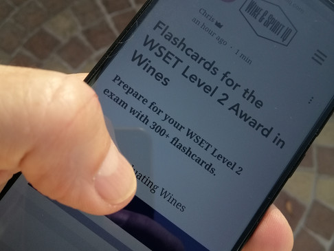 Flashcards for the WSET Level 2 Award in Wines