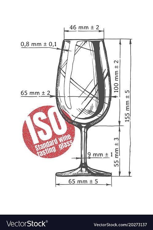 Set of 6 ISO Tasting Glass