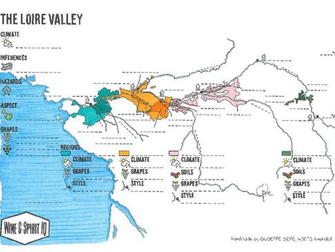 Loire Blank Map