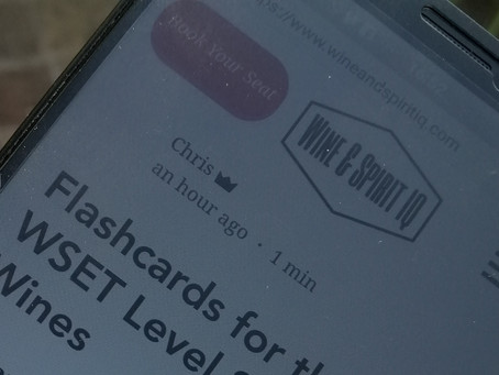 Flashcards for the WSET Level 3 Award in Wines
