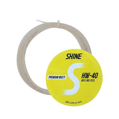 HW-40 (MULTI FILAMENT) SHINE TENNIS STRING