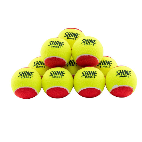 SHINE RED BALLS (STAGE 3) BOX 72 BALLS