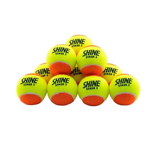SHINE ORANGE BALLS (STAGE 2) BOX 72 BALLS