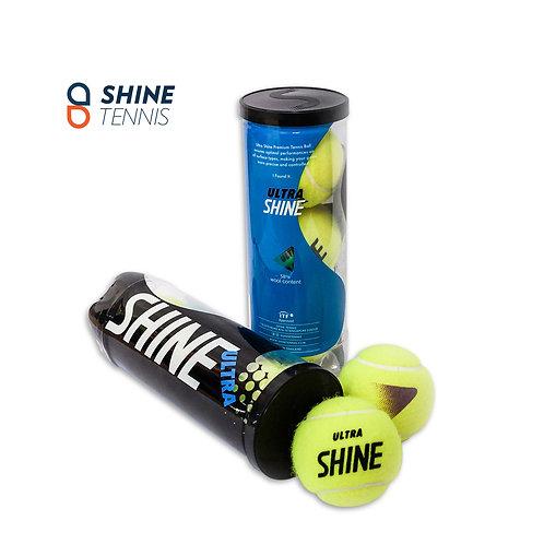 Ultra Shine Tennis balls (1 can = 3 balls)