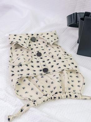 สอนตัดเสื้อผ้าสุนัข-แมว ชุดคู่ใส่กับเจ้าของ EP.2   Heartly Jump Shirt (มีแพทเทิร์น)
