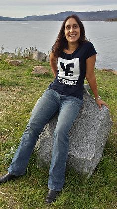 Ladies Navy T-shirt