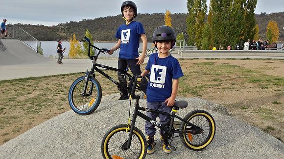 Kids Unisex Navy Blue T-shirt