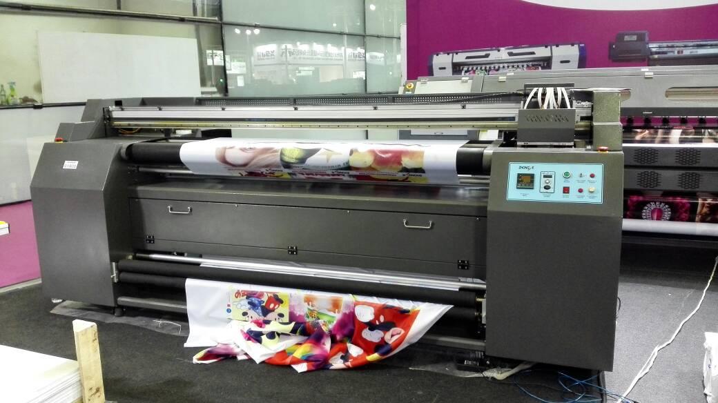 imprimindo tecido polyester