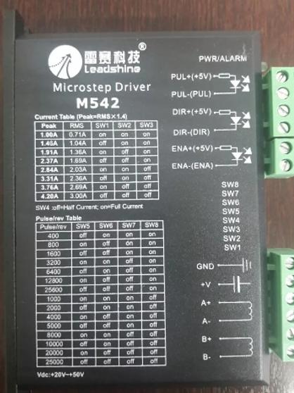 Microstep driver Leadshine - M542