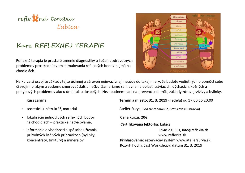 Kurz reflexnej terapie