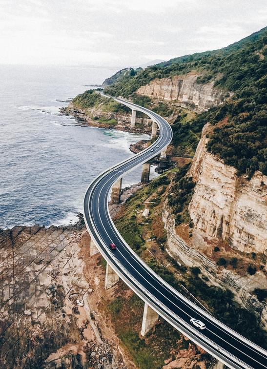 Sea Cliff Bridge, Australia, 2017