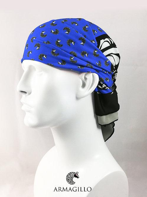 GilloGhost Bandana - Blue/Black