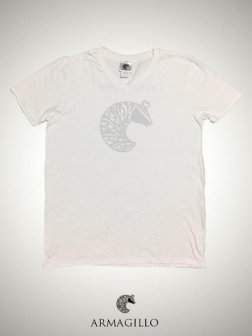 Armagillo Ladies T Shirt - White