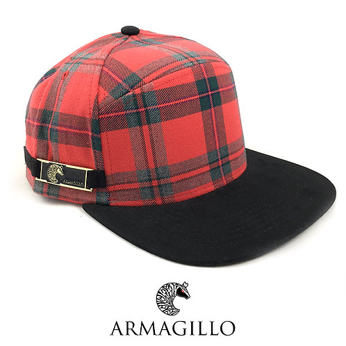 Red Plaid Snapback