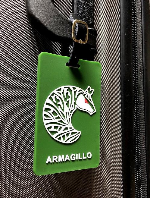 Armagillo Travel Tag - Tropic Green