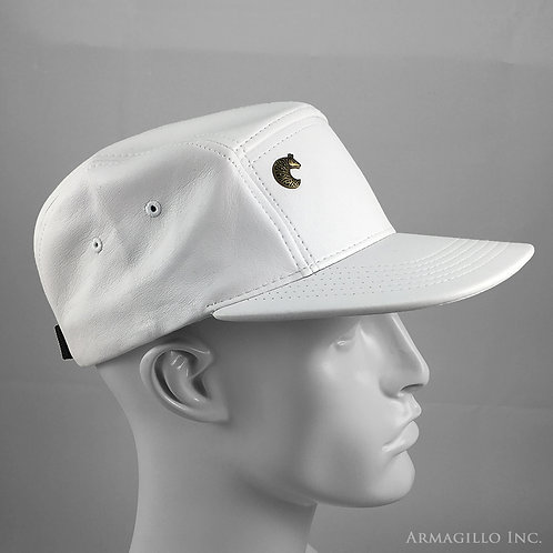 Strapback - Fresh White Leather