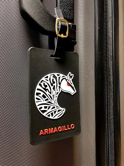Armagillo Travel Tag - Classic Black