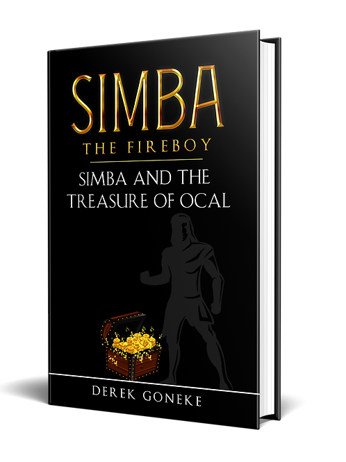 Simba The Fireboy Series:  Simba and the Treasure  of Ocal  Series 3
