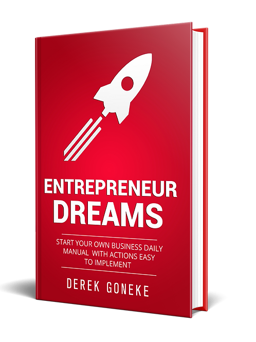 Entrepreneur Dreams: Start Your Own Business Daily Manual with Actions