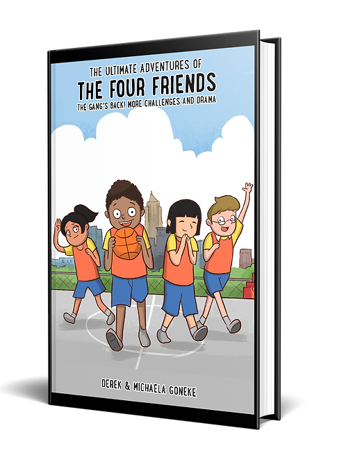 The Ultimate Adventures of The Four Friends: The Gang's Back! More Challenges