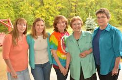 Cathy, Rita, Jane, Wanda, Mary