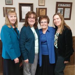 Wanda, Jane, Rita & Cathy