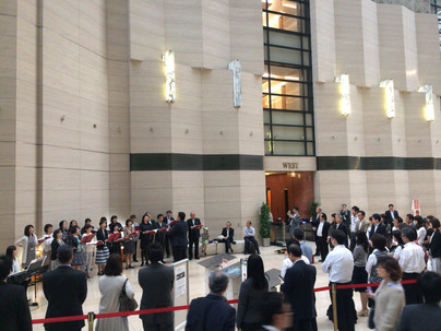 2017.5.17 NTT合唱団 大手町ファーストスクエアビルロビーコンサート[レポート]