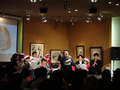 「音無美紀子の歌声喫茶」7周年&クリスマス公演