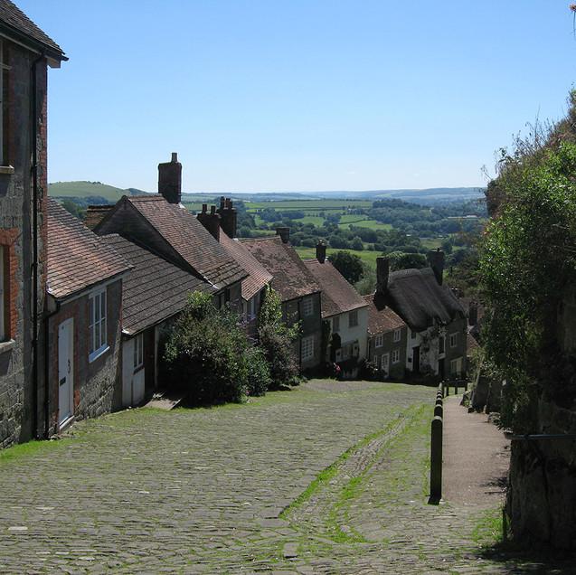 Gold Hill - Shaftsbury - Dorset