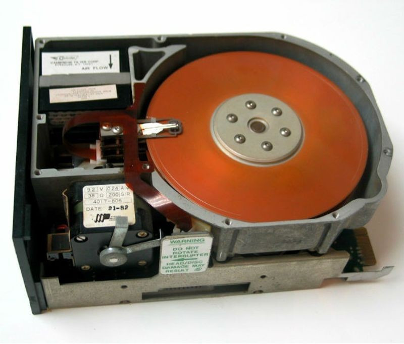Seagate's ST-506, with a 5Mb capacity. It is the daddy and a bad boy all rolled in to one.