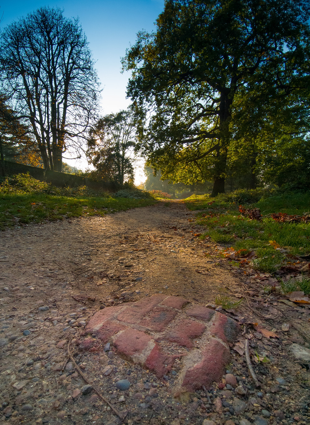 Richmond Park - Buried Chimney Stack