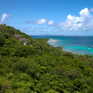 View from Firefly - Mustique