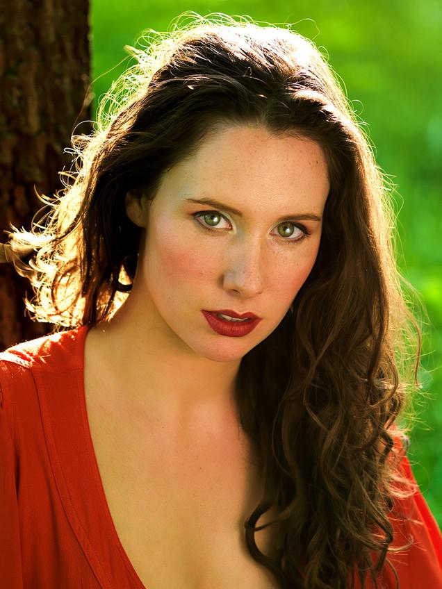 Eloise - Backlit Portrait