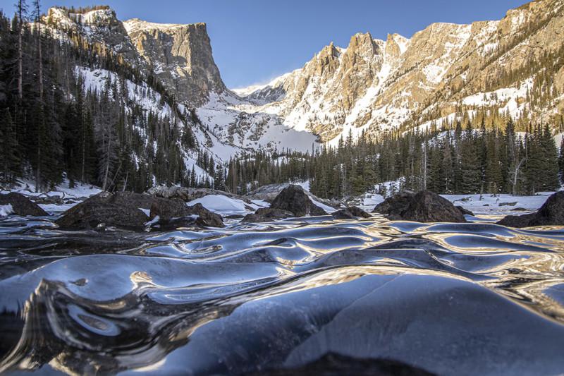 Frozen Waves by Eric Gross